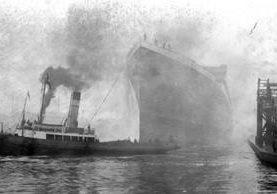 El Britannic era parte de la flota más lujosa y más grande de la época, la clase Olympic. (GETTY IMAGES)