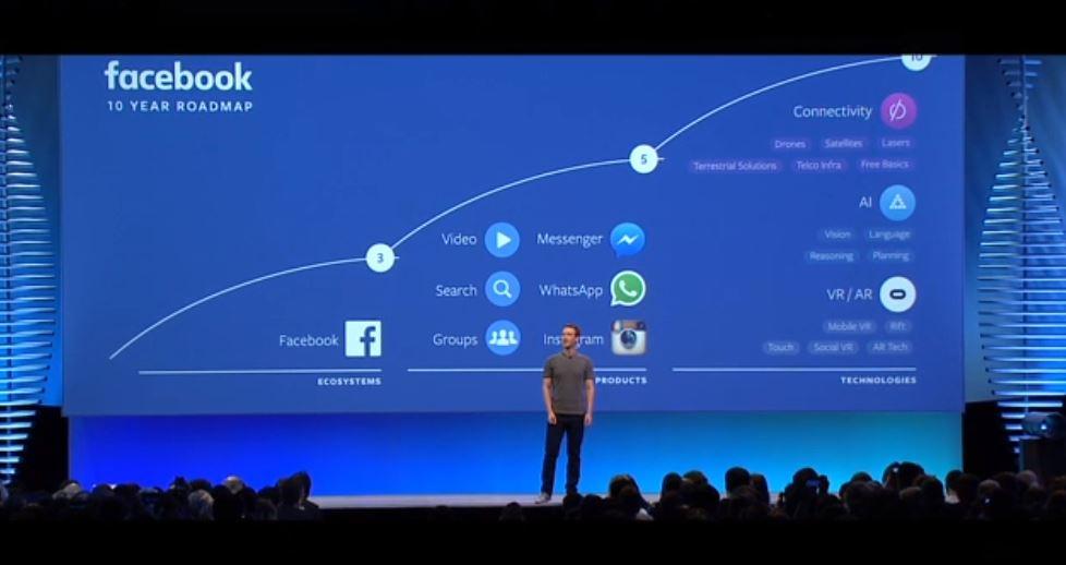 Mark Zuckerberg, en el primer día del F8 2016. (Foto: Hemeroteca PL).