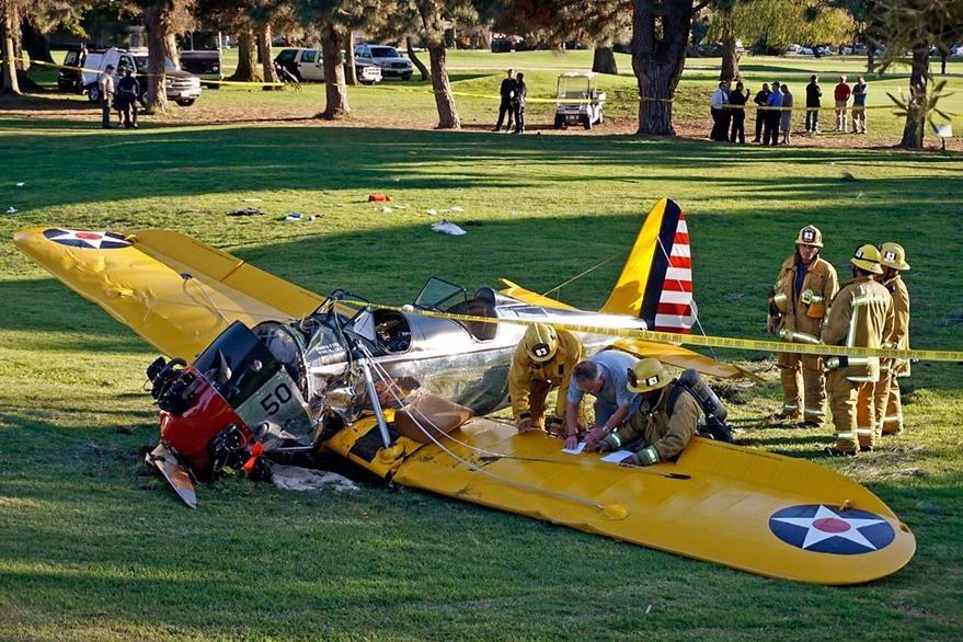 El avión sufrió desperfectos mecánicos minutos después de su despegue. (Foto Prensa Libre: AP)