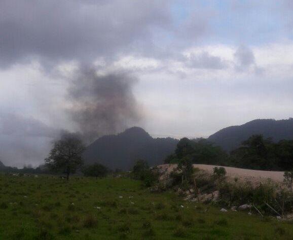 Empresa PDH teme daños a su campamento y a una finca vecina.