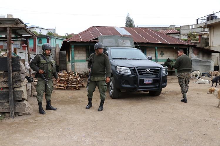 Con 114 votos fue aprobado el estado de Sitio en dos municipios de San Marcos. (Foto Prensa Libre: Hemeroteca PL)