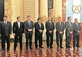 Este año el Ejecutivo ha cambiado a gobernadores en Quiché, Sacatepéquez, El Progreso, Totonicapán y Huehuetenango. (Foto Prensa Libre: Hemeroteca PL)
