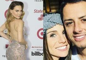 Un tuit de Belinda fue suficiente para recordar el conflicto entre Javier Hernández y Lucía Villalón (Foto Prensa Libre: Televisa).
