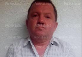 La ficha de Carlos Rubio Parra quien estaba prófugo de la justicia guatemalteca y que fue aprehendido en México. (Foto Prensa Libre: Internet)