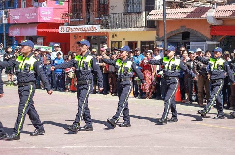 Veintidós agentes de la PMT dirigirán el tránsito en Tecpán Guatemala, Chimaltenango. (Foto Prensa Libre: Tomada del Facebook de la Municipalidad de Tecpán Guatemala)