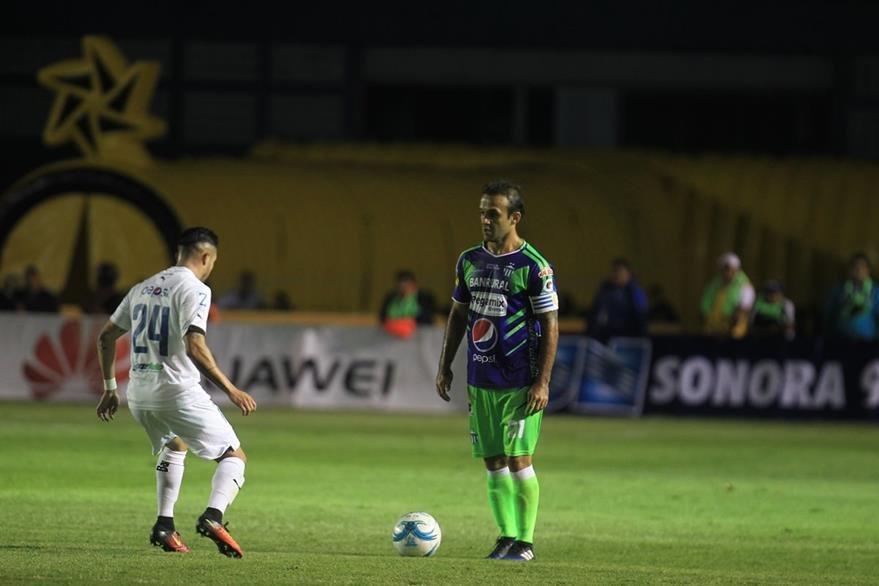 José Contreras portó el gafete de capitán con Antigua GFC. (Foto Prensa Libre: Carlos Vicente)