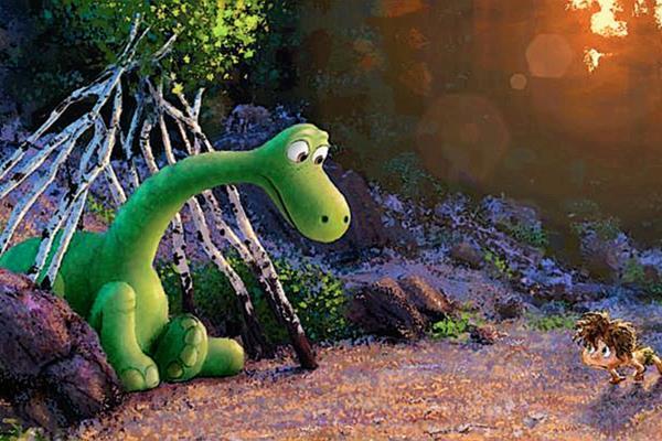 Una amistad prehistórica se vivirá en la nueva película de pixar El Buen Dinosaurio (Foto: Prensa Libre: tomada del sitio oficial de Pixar).