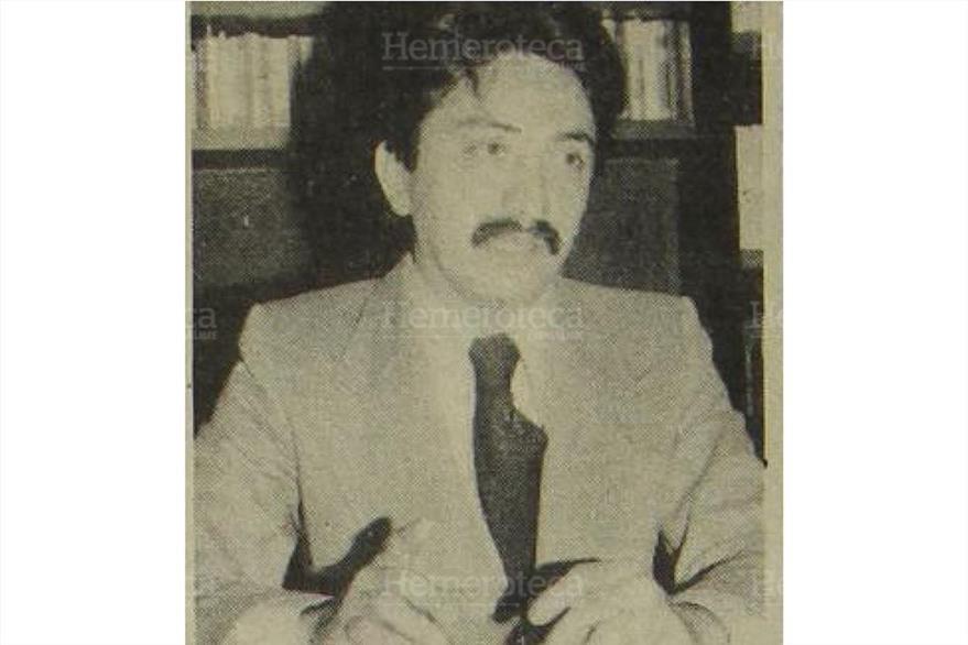 20/02/1979 Mario David García, director de Aquí el Mundo. (Foto: Hemeroteca PL)