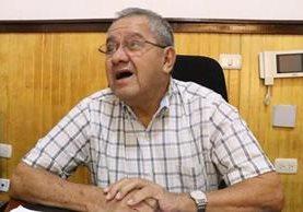 Manuel de Jesús Delgado, alcalde de Mazatenango, dijo estar anuente a la decisión que tome el juez pesquisidor. (Foto Prensa Libre: Cristian Soto)