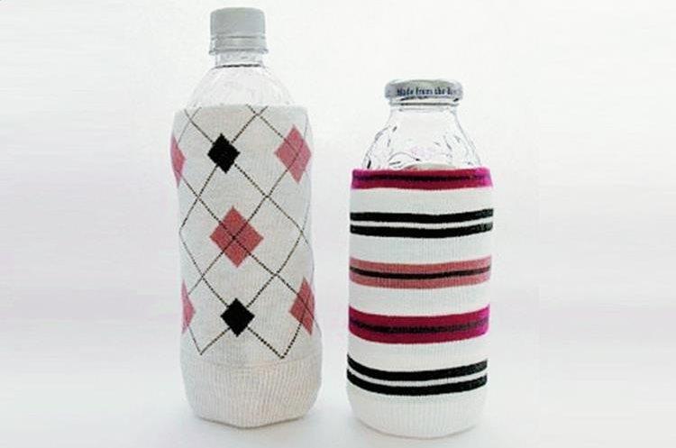 Se pueden emplear, recortados, para envolver botellas, como decoración, o para mantener frío o caliente su contenido.