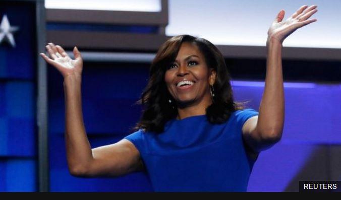 Michelle Obama, de 52 años, es la primera mujer afrodescendiente en ser primera dama de Estados Unidos.