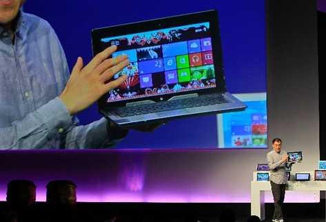 Windows 8 la renovación más importante de Microsoft en el campo de los sistemas operativos desde el Windows 95. (Foto Prensa Libre: AFP)