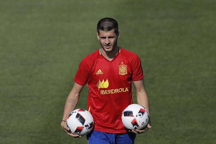 Morata está jugando la Eurocopa 2016 con España. (Foto Prensa Libre: AP)