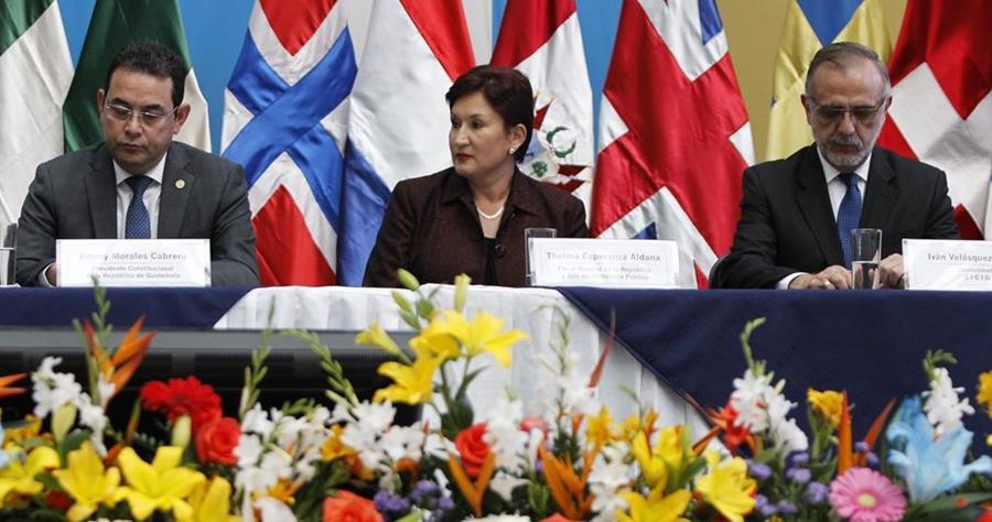 La relación entre el presidente Jimmy Morales y autoridades del MP y Cicig es más tensa, luego de darse a conocer la reunión que el mandatario sostendrá con el secretario de la ONU. (Foto HemerotecaPL)