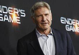 Harrison Ford ha protagonizado más de 40 películas a lo largo de toda su carrera. (Foto Prensa Libre: EFE)