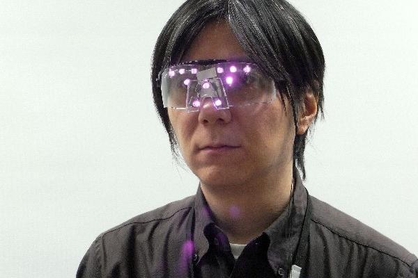 <p><strong>Las gafas están dotadas de luces infrarrojas que protegen la identidad de quien las porta. (AFP).</strong></p>
