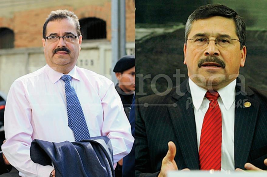 Julio Suárez y Édgar Barquín fueron presidentes del Banco de Guatemala. (Foto: Hemeroteca PL)