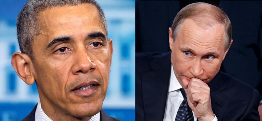 Barack Obama, presidente de EE. UU. (izq.) y Vladimir Putin, presidente de Rusia. Ambos países están en polémica por los Panamá Papers. (Fotos Prensa Libre: AP/EFE).
