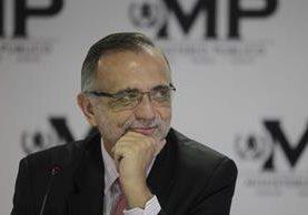 Iván Velásquez es el tercer jefe de la Cicig en ocho años de existencia. (Foto Prensa Libre: Hemeroteca PL)