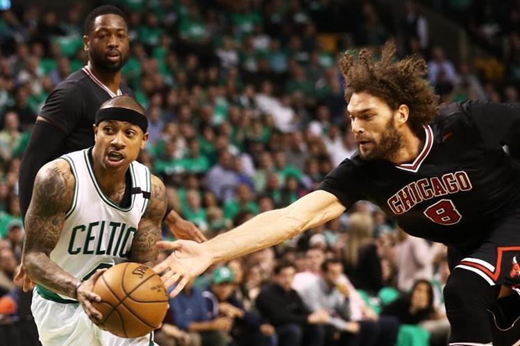 NBA: Chicago golpea duro a Boston