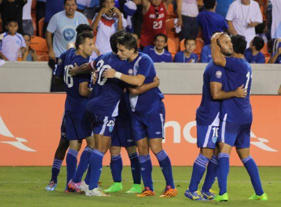 La Selección Nacional fue subcampeona en la Uncaf del 2014, que se realizó en Estados Unidos. (Foto Prensa Libre: Hemeroteca PL)