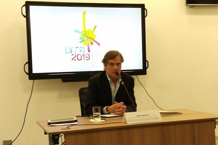 Carlos Neuhaus, presidente del comité organizador de los XVIII Juegos Panamericanos, aseguró que las instalaciones etarán a tiempo. (Foto Prensa Libre: Tomada de internet)