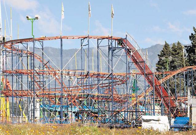 En 2013 la muerte de dos jóvenes en un parque de diversiones de Quetzaltenango provocó repudio en la sociedad quetzalteca por la pasividad de las autoridades. (Foto: Hemeroteca PL)