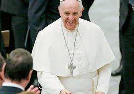 El papa Francisco envió hoy la carta a El Salvador. (Foto Prensa Libre: EFE).