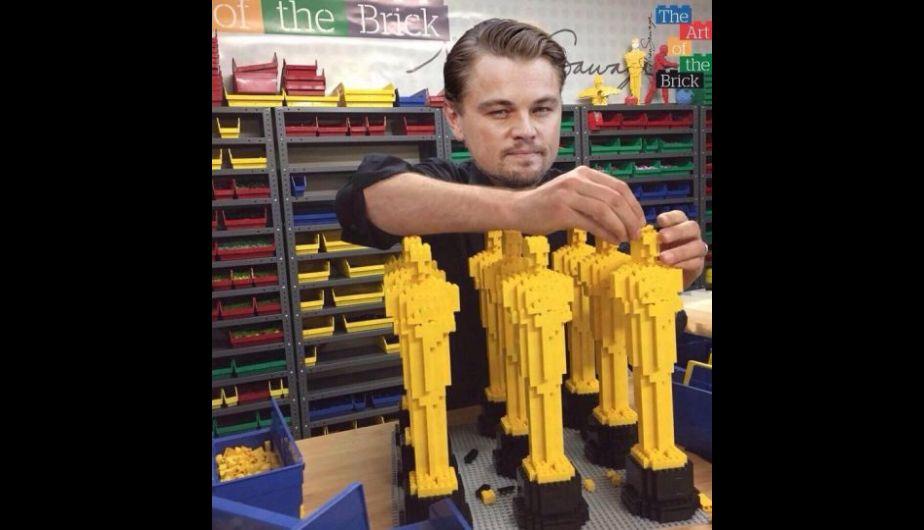 Si a Leonardo se le escapa el Óscar otra vez, él tendrá que crear uno.