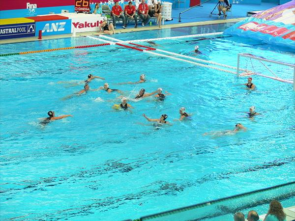 Brasil se quedó con la medalla de plata en el Waterpolo Masculino. (Foto Prensa Libre: Agencias)