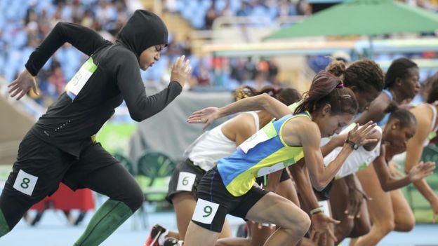 Abuljadayel llegó de séptima entre ocho corredoras. (Ronald Grant)
