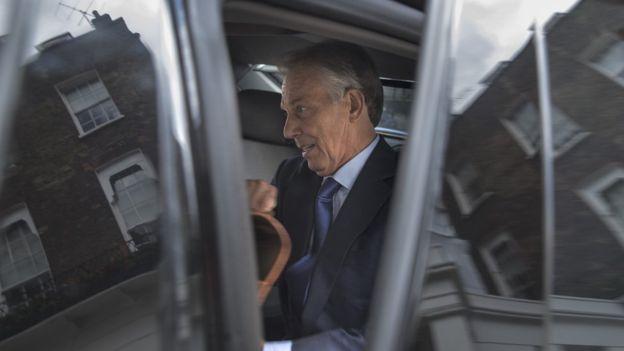 Tony Blair salió a comparecer este miércoles y dijo que volvería a tomar la misma decisión si volviera a estar en la misma situación. GETTY IMAGES