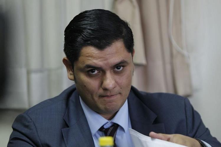 Pablo Muñoz intentó sin éxito recuperar más de Q2 millones embargados por Extinción de Dominio, en el caso La Línea. (Foto Prensa Libre: Paulo Raquec)