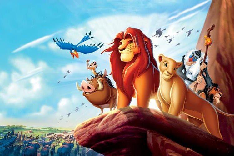 """""""El rey león"""" se convirtió en la película animada más exitosa de la industria."""