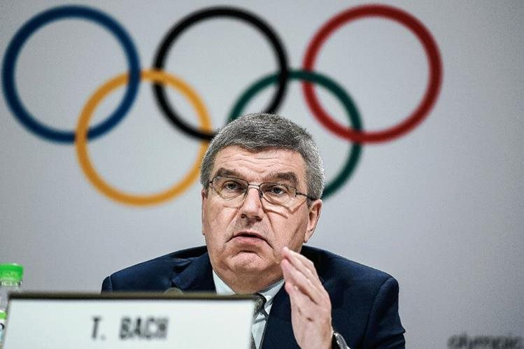 Bach insiste en que la renuncia de Boston afecta a los Juegos Olímpicos. (Foto Prensa Libre: AFP)
