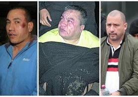 Capos extraditados Jairo Orellana, Arturo Contreras y Marlon Monroy. (Foto Prensa Libre: Hemeroteca PL)