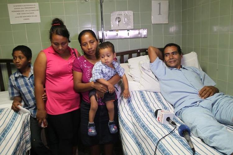 La familia del menor guatemalteco muerto en la zona de adyacencia con Belice exige castigo para los culpables. (Foto Prensa Libre: Érick Ávila)