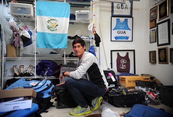 Juan Maegli sufre una lesión en la espalda que lo deja fuera de la preparación. (Foto Prensa Libre: Hemeroteca PL)