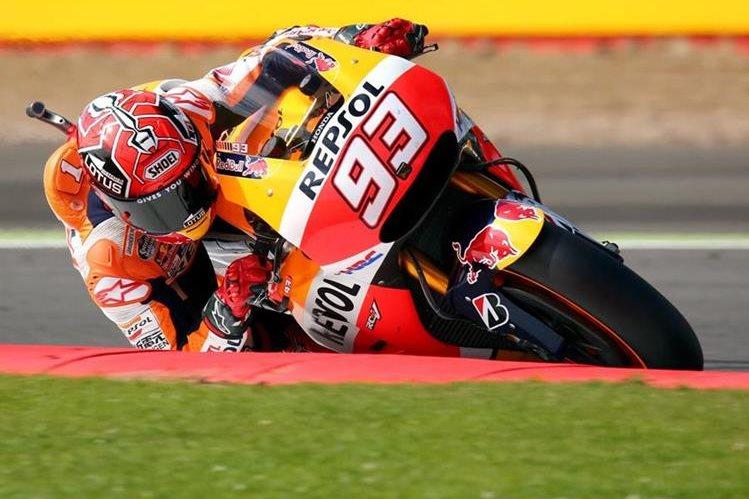 Marc Márquez va por un nuevo triunfo en MotoGP. (Foto Prensa Libre: EFE)
