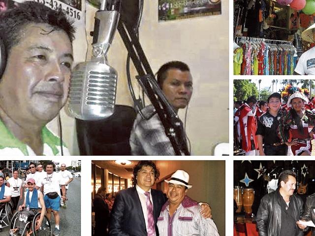 El Polifacético locutor es querido por los migrantes latinos en Los Ángeles, Estados Unidos.