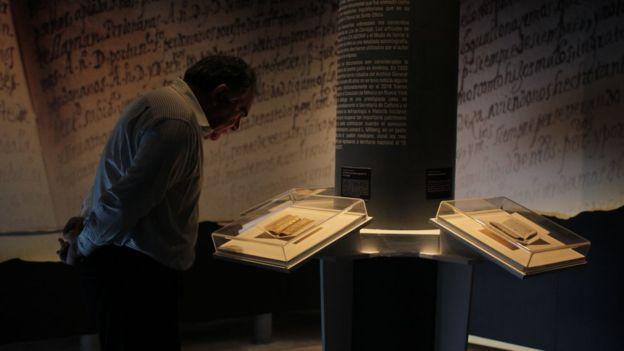 """Baltazar Brito dijo que tenía una """"corazonada"""" los documentos eran originales."""