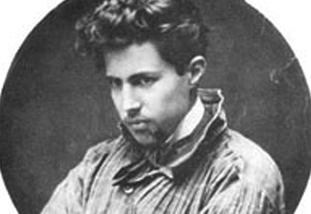 Carlos Mérida en sus años de juventud. (Foto: Hemeroteca PL)