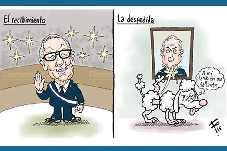 Maldonado Aguirre asume como nuevo presidente de Guatemala. (Foto: Hemeroteca PL)