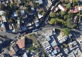 Cruce de Las Tapias y San Pedro Ayampuc. (Foto: Álvaro Interiano)