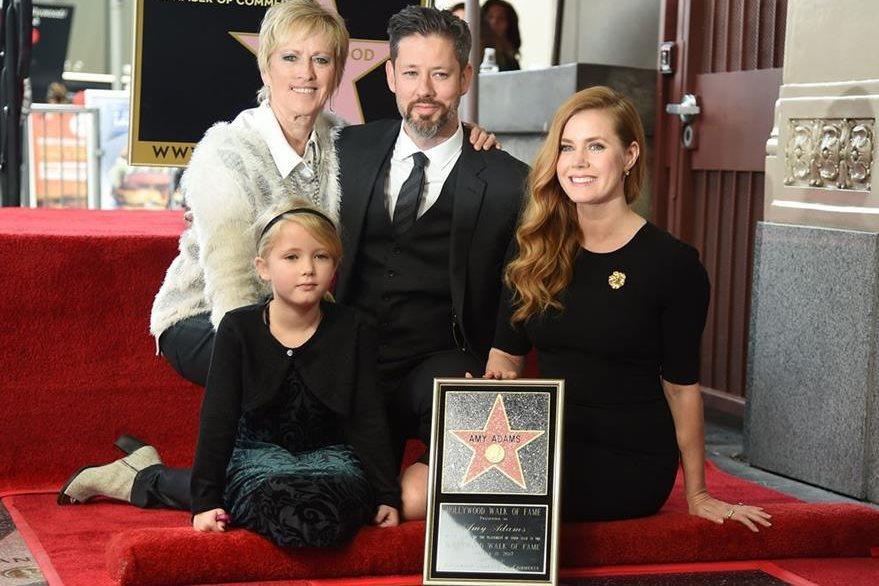 Adams estuvo acompañada de amigos y familia. (Foto Prensa Libre: AFP)