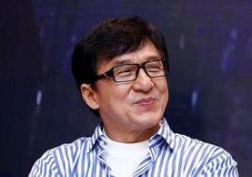 El actor Jackie Chan celebra trayectoria en la pantalla grande. (Foto Prensa Libre: AP)