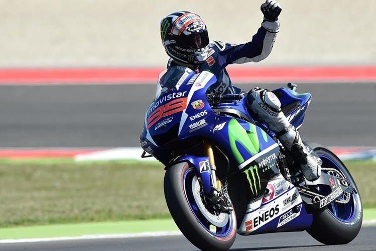 Lorenzo fue el más rápido en la clasificación de este sábado. (Foto Prensa Libre: AFP)