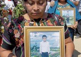 Comunidad repudia muerte de los menores.