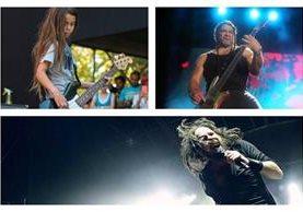 Tye Trujillo es el nuevo bajista de la banda Korn. (Foto Prensa Libre: Hemeroteca PL)