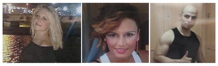 <em>Marina Okarynska y Laura del Hoyo Chamón, las amigas asesinadas aparentemente por Sergio Morate.(Foto Prensa Libre: EFE).</em>